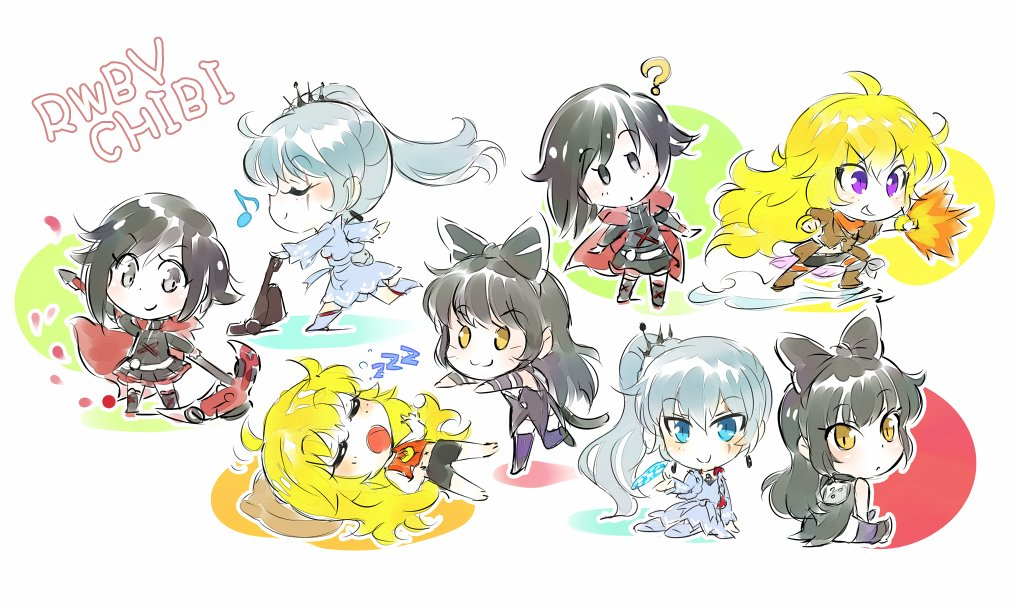 Rooster Teeth On Twitter Get Ready Rwby Chibi Season – HD Wallpapers