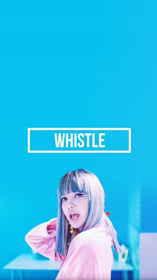 "YG Lockscreen World on Twitter: ""090816 BLACKPINK 'WHISTLE ..."
