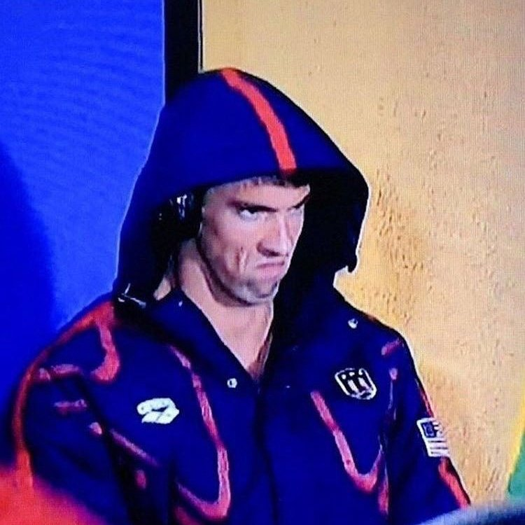 When you wake up before the alarm #PhelpsFace https://t.co/W5F35vULKt