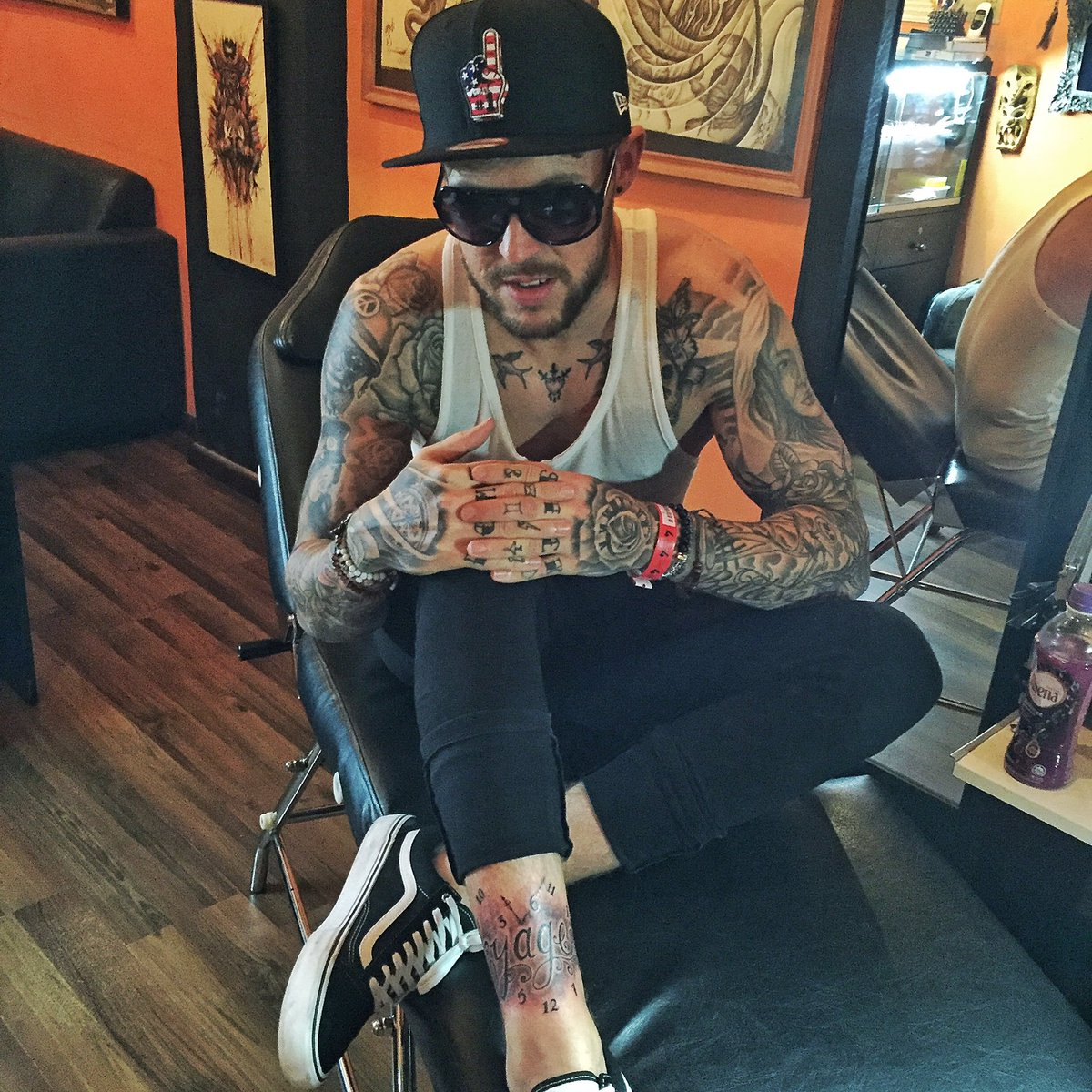 Ben Nicky On Twitter New Leg Tattoo In Singapore Now Off