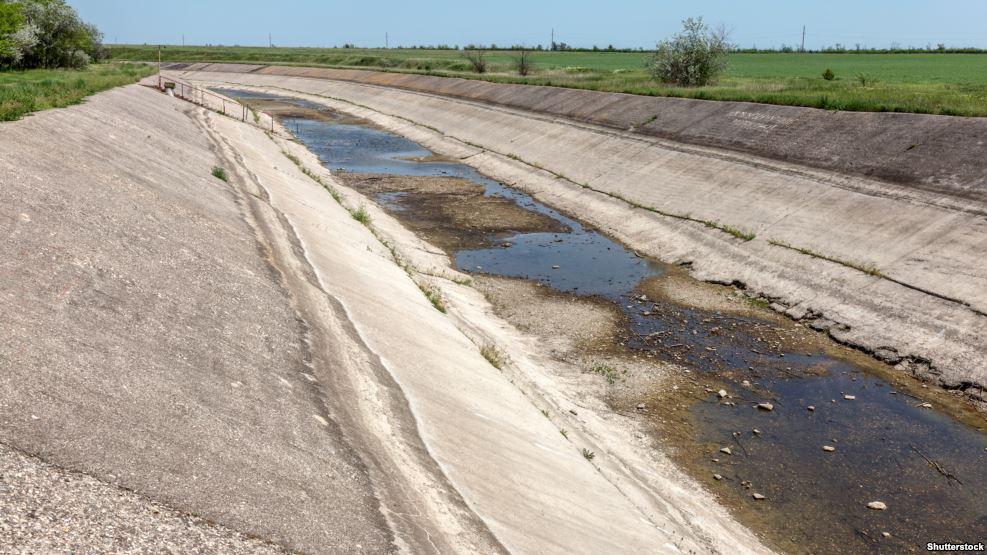 Оккупанты констатировали, что ряд населенных пунктов в Крыму испытывают дефицит воды. В некоторых уже нет и центрального водопровода - Цензор.НЕТ 2988
