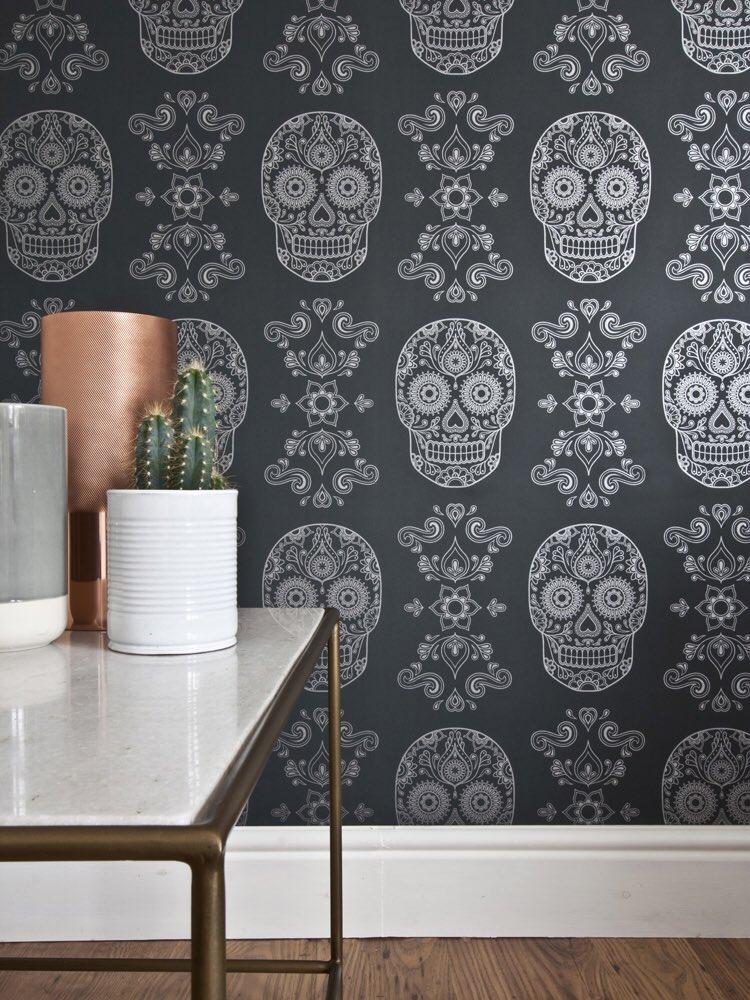 Anatomy Boutique On Twitter New Sugar Skull Wallpaper In
