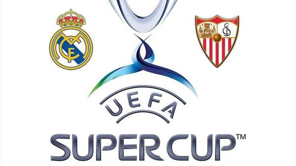 Diretta TV Real Madrid-Siviglia, info Streaming calcio gratis finale Supercoppa UEFA