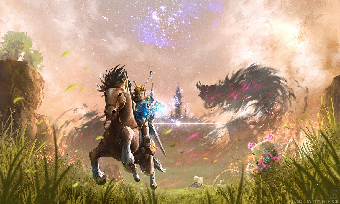 Zelda Universe On Twitter Breath Of The Wild Fanart Of