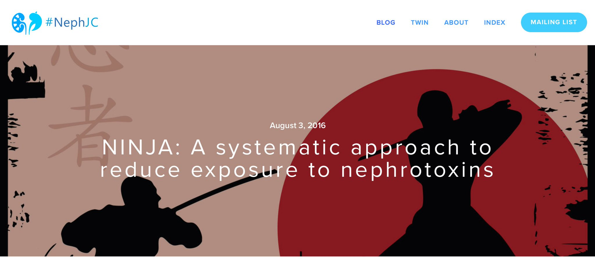 Thumbnail for NINJA: A systematic approach to reduce exposure to nephrotoxins