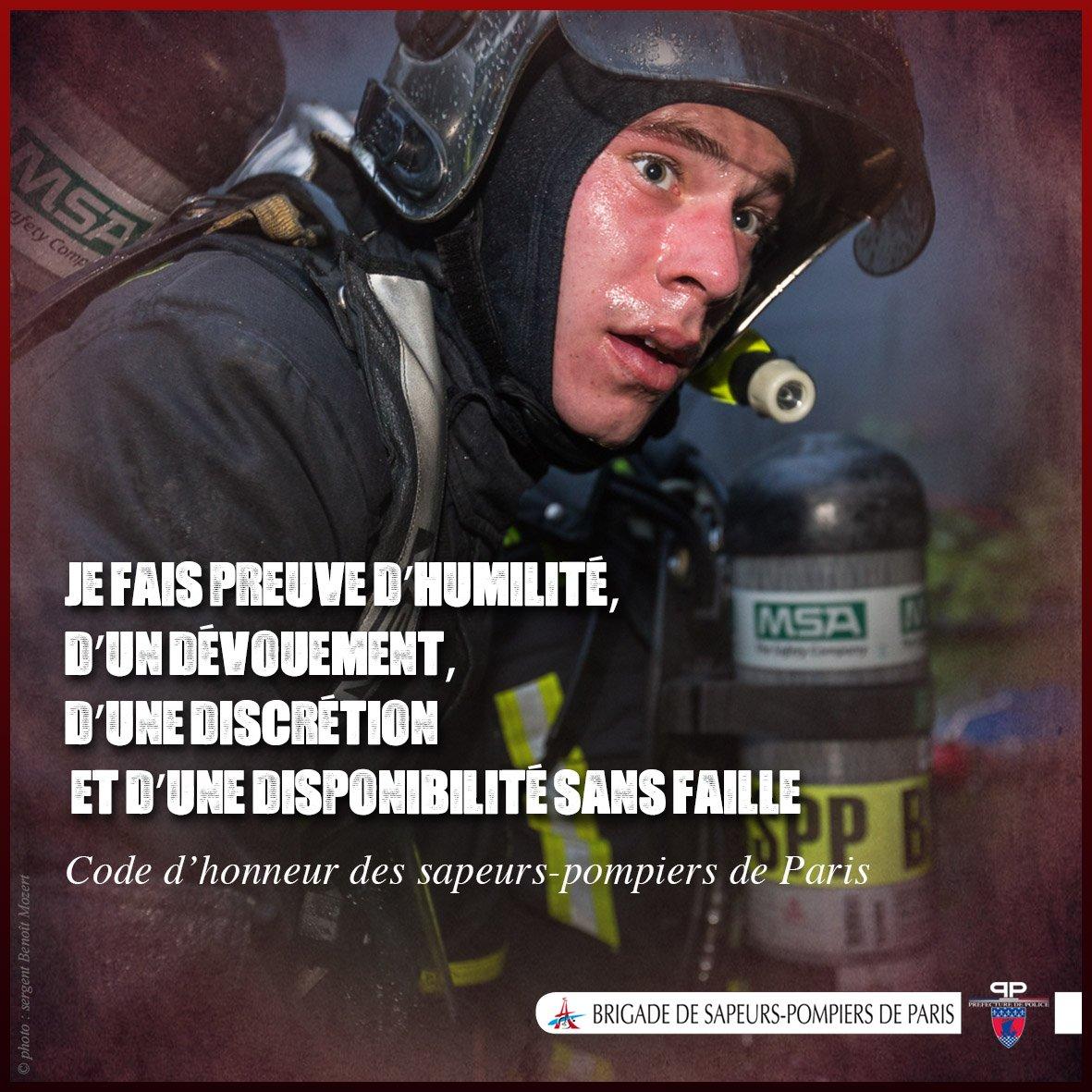 Pompiers De Paris On Twitter Citation Je Fais Preuve D