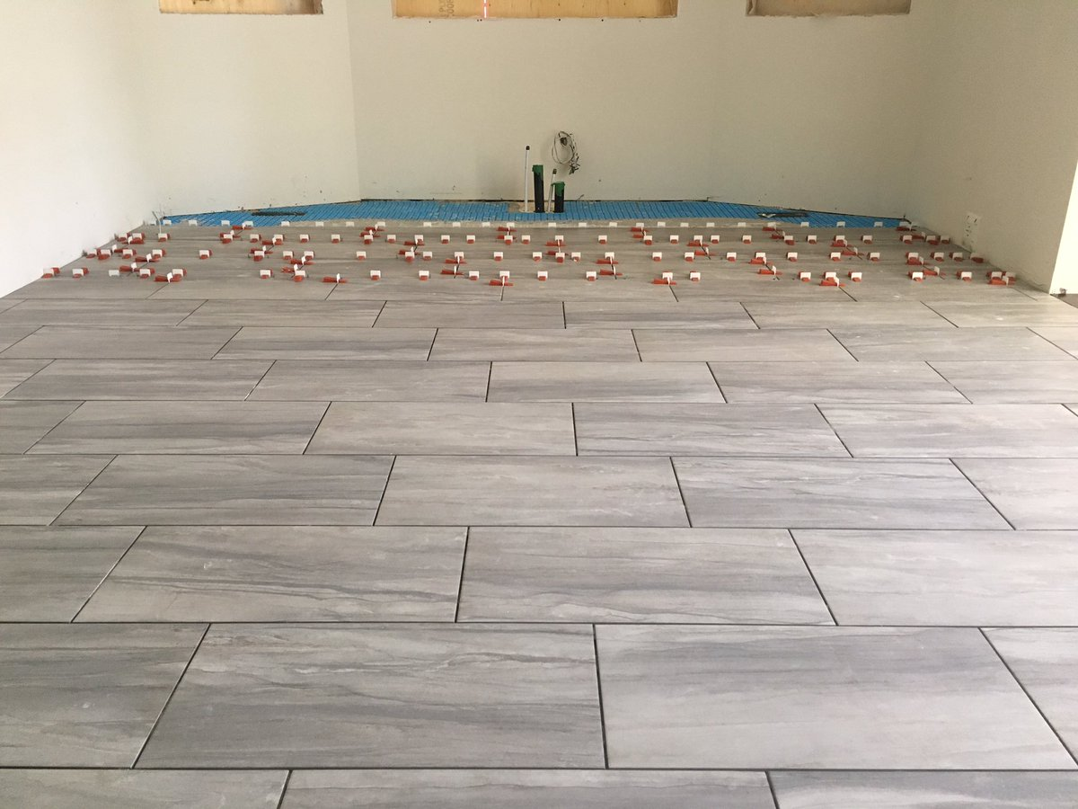 Coco Tile On Twitter New Kitchen Floor With 12x24 Italian