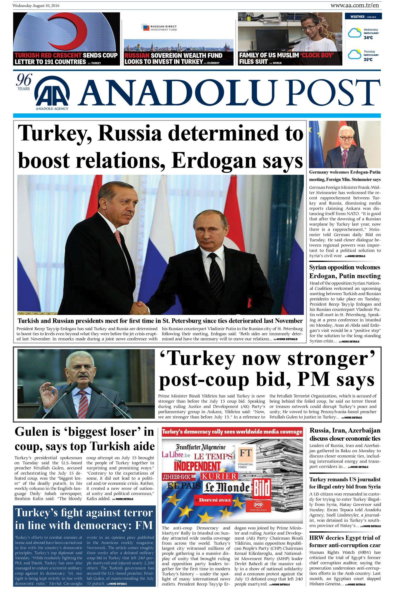 TURQUIE : Economie, politique, diplomatie... - Page 37 CpbrqpBWYAA0LAf