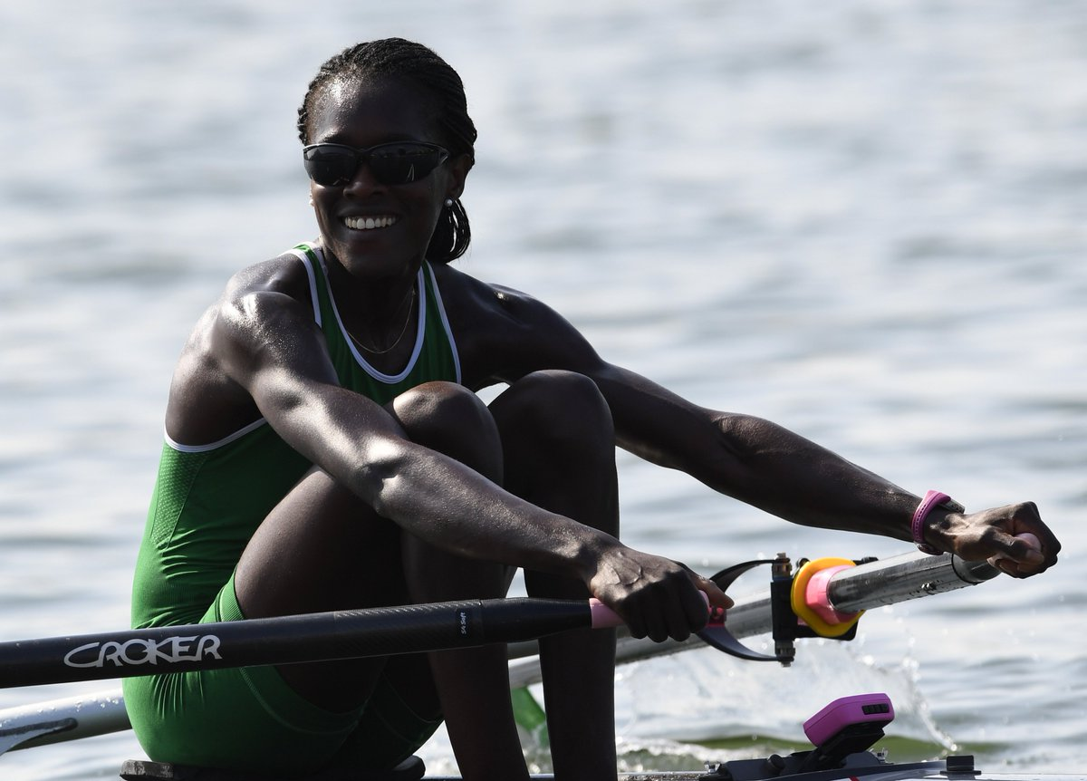 Nigeria's first ever Olympic rower makes history to reach single sculls semifinals: https://t.co/1v10hA5UNQ #NGR https://t.co/HnZwpuaLy3