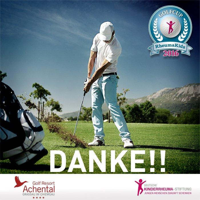 4.Golfcup Rheumakids 23.07.2016,  Vielen Dank an alle beteiligten und Gäste!  Fotos: Schneider-Press pic.twitter.com/x3K7BrYCeK