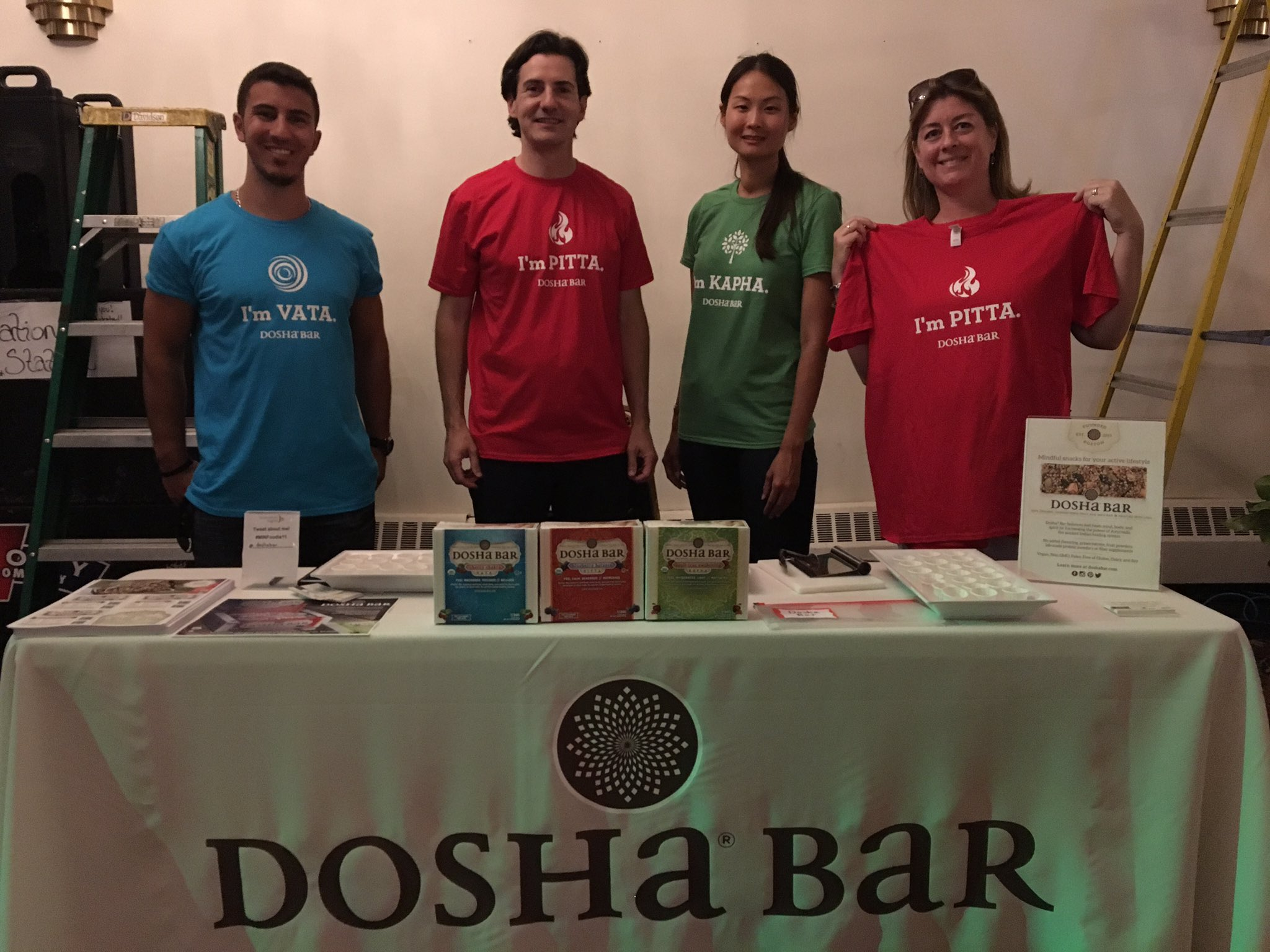 What #dosha are you? #Ayurveda come find out tonight! #MINFoodie11 6pm @ONCEsomerville @doshabar @BobbieC https://t.co/MevGXYL99b