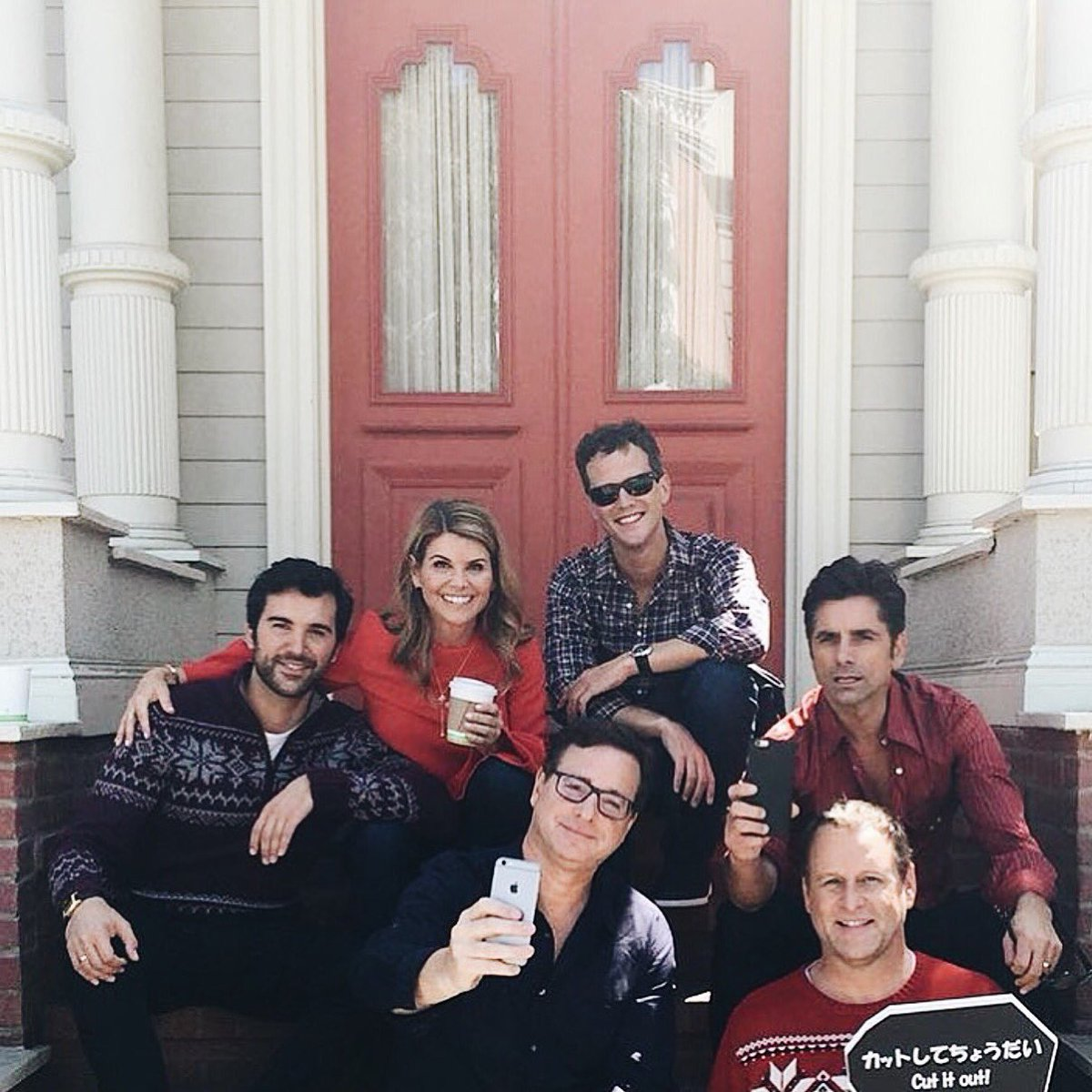 Lori & her gang of misfits. #FullerHouse #Squad {