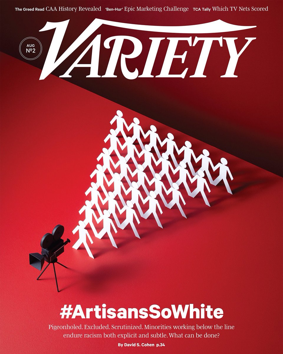 This weeks Variety magazine featuring my cover illustration. Shot with Aaron Tilley https://t.co/DOzGrftaeg