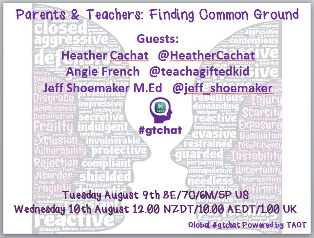 Thumbnail for #gtchat: Parents & Teachers:Finding Common Ground