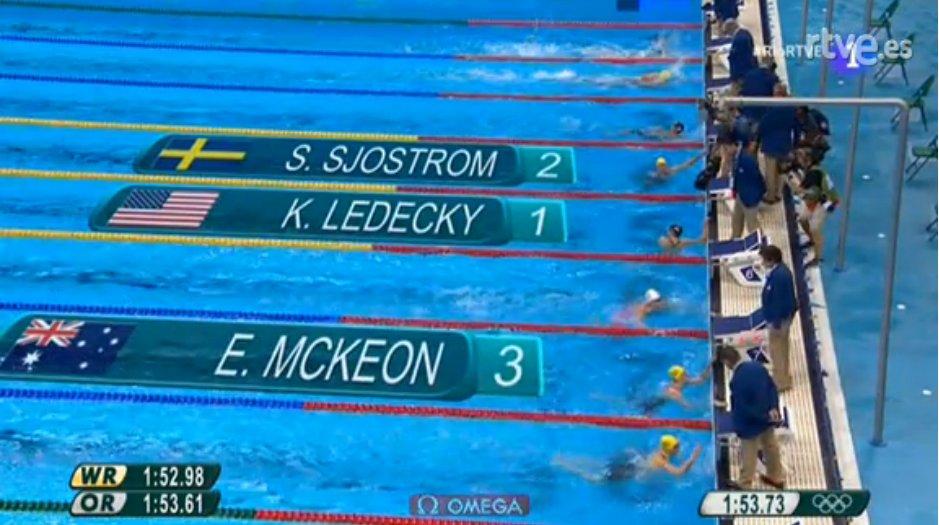 Olimpiadi nuoto: Federica Pellegrini solo quarta nei 200 sl