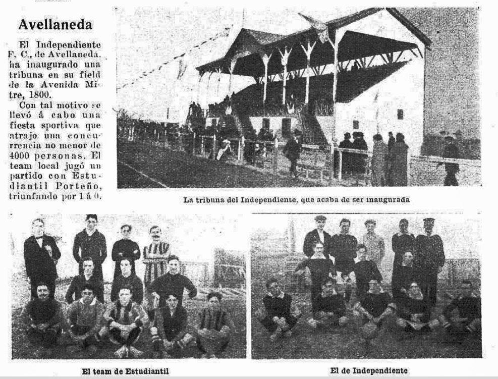 Resultado de imagen para independiente 1911