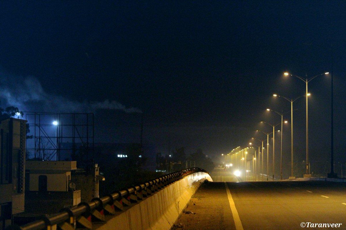 Taranveer Singh On Twitter Landscapes Low Light Photography Night Highiso Streets Roads Flyover Lights Smog