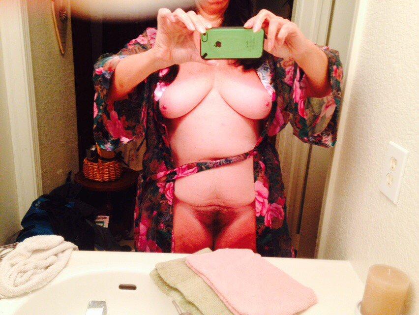 Nude Selfie 7678