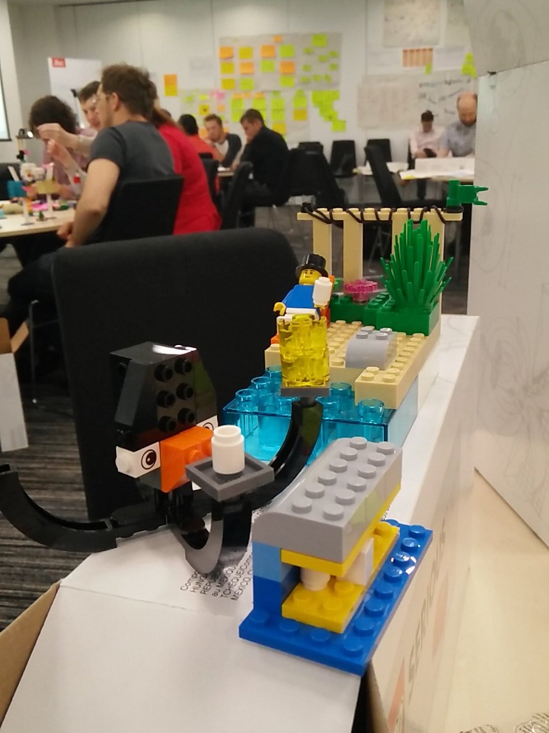 Super productive morning building the customer and us. The multi-capable octopus. #studentideas https://t.co/ByLU8Yisg7