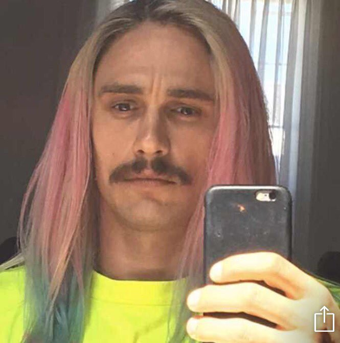 James Franco darling? Are you ok? Do you need help? A hug? Hair dye? https://t.co/bBRvWbcHz3