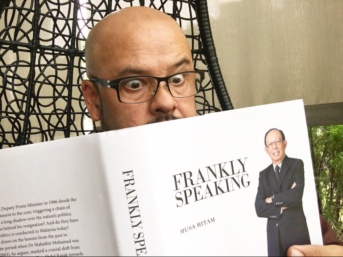 Image result for fRANKLY SPEAKING BY MUSA HITAM