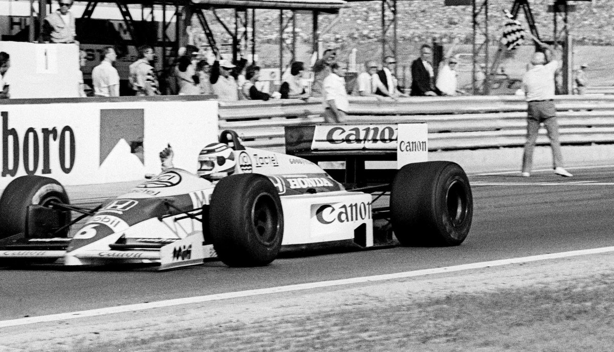 """Formula 1 on Twitter: """"HUNGARY: AUGUST 10, 1986 Nelson Piquet wins the  first #F1 race behind the Iron Curtain 30 years ago #OnThisDay 🗓 🏁… """""""