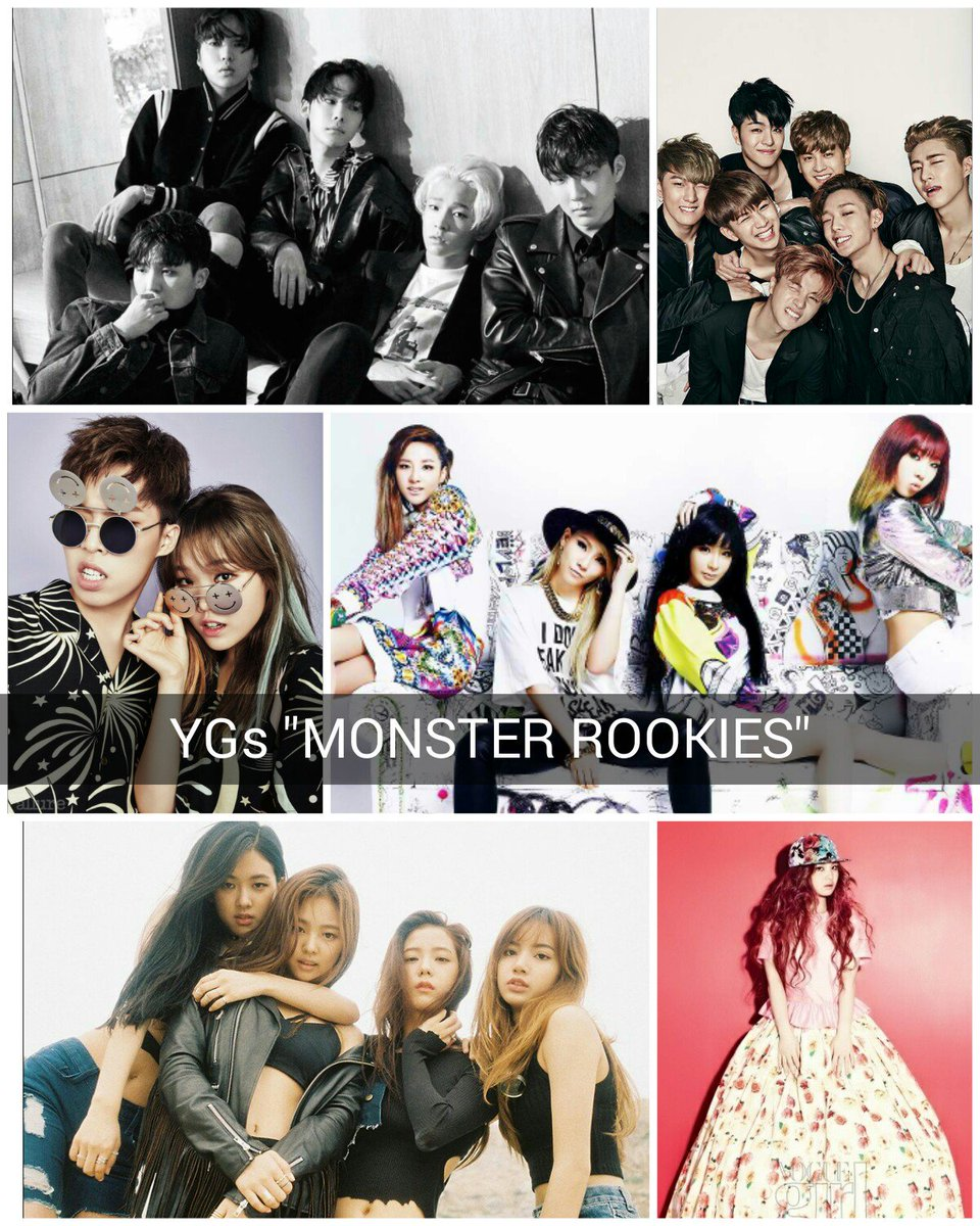 "YG Family On Twitter: """"YGs MONSTER ROOKIES"" The Original"