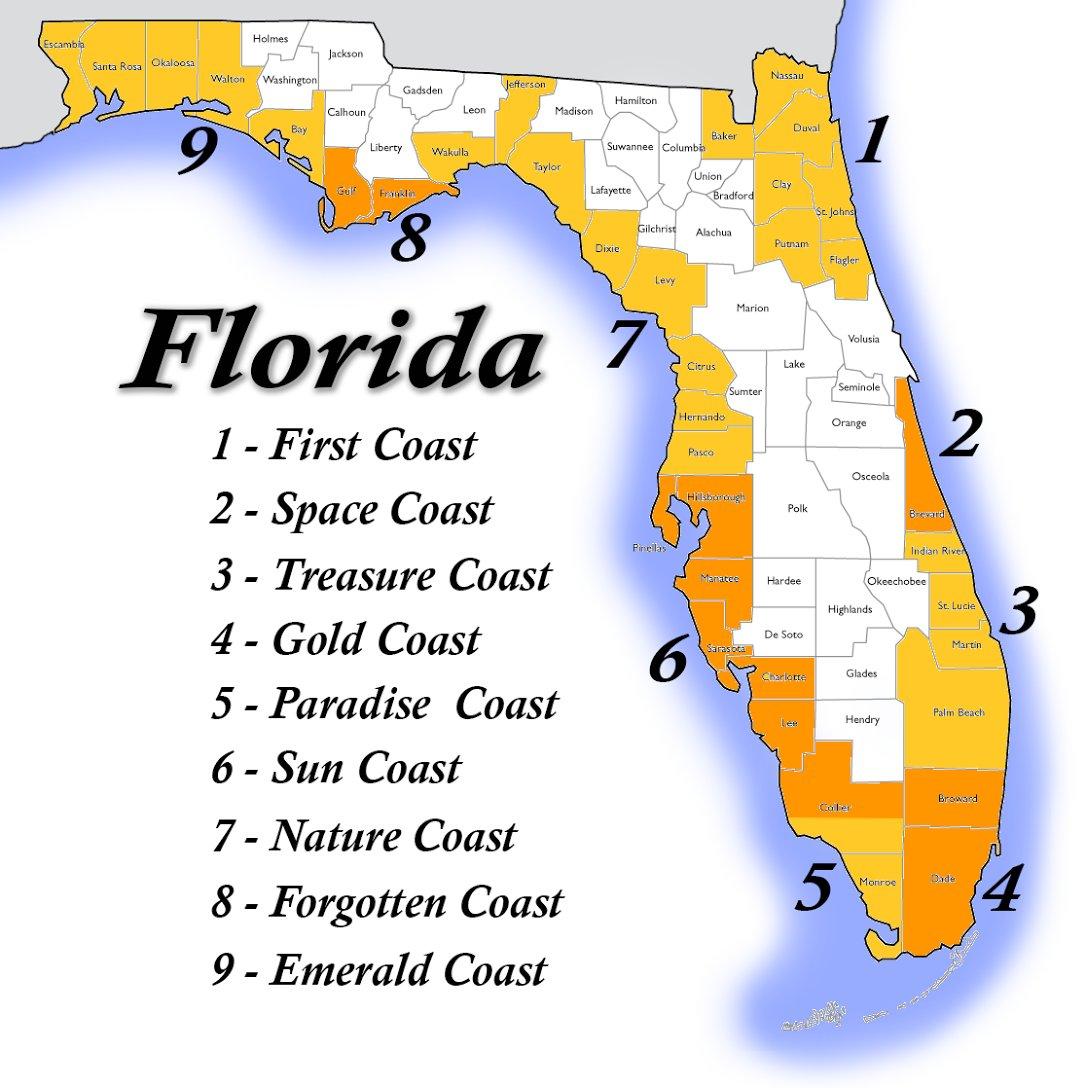Emerald Coast Florida Map.Jen Carfagno On Twitter The Nature Forgotten Emerald Coasts