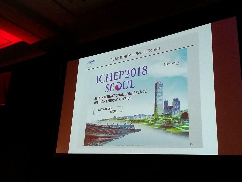 Thumbnail for ICHEP2016 - Wednesday, August 10