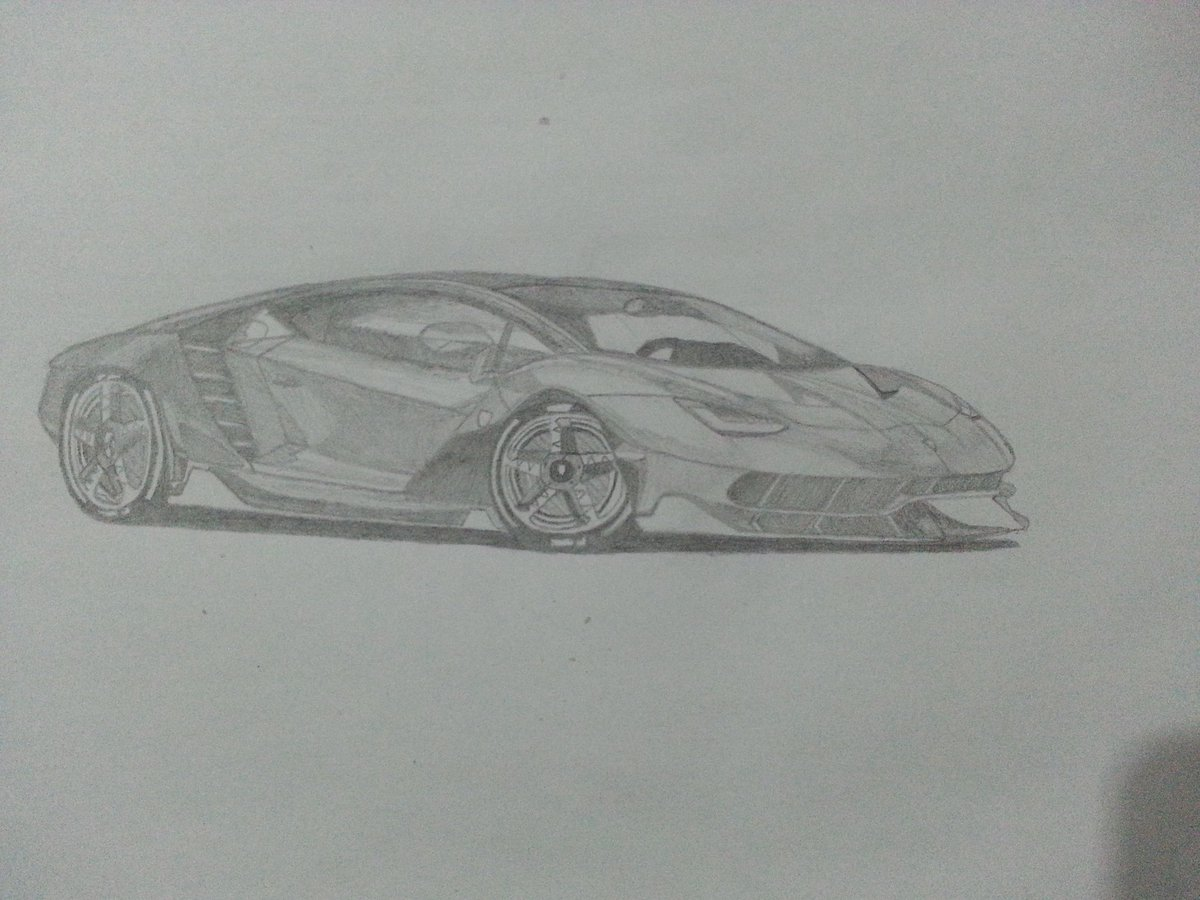 Lamborghini On Twitter Challenge Try To Sketch The Centenario
