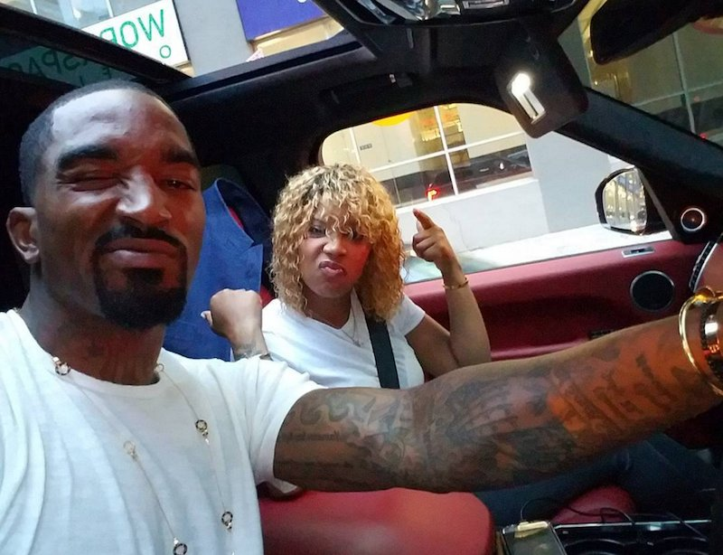 ce662fcf519c sweet black love you cant tell jr smith and wife jewel a damn thing 2 rings
