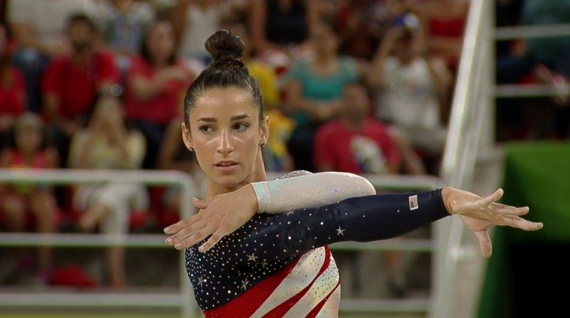 Watch Aly Raisman S Brilliant Floor Routine Olympics