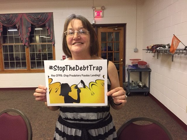 Tonya got a car title loan to pay a water bill & wound up losing her car (1 in 5 borrowers do). #StopTheDebtTrap https://t.co/xyD4oOHDtu