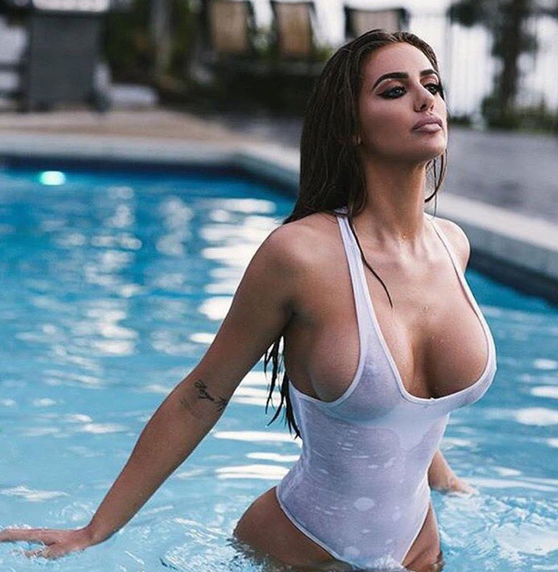 Latina wet t shirt