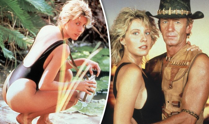 You'll never believe what crocodile dundee's linda ...