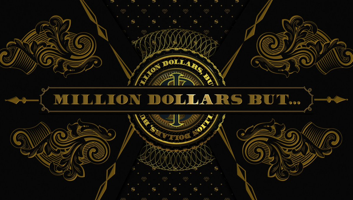 million dollars but on twitter curious to see what inspired