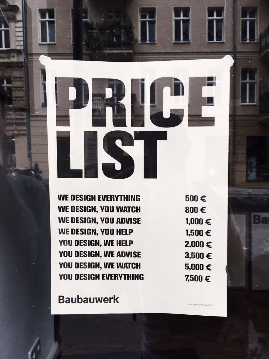 mucho on twitter the perfect designer price list spotted by mucho