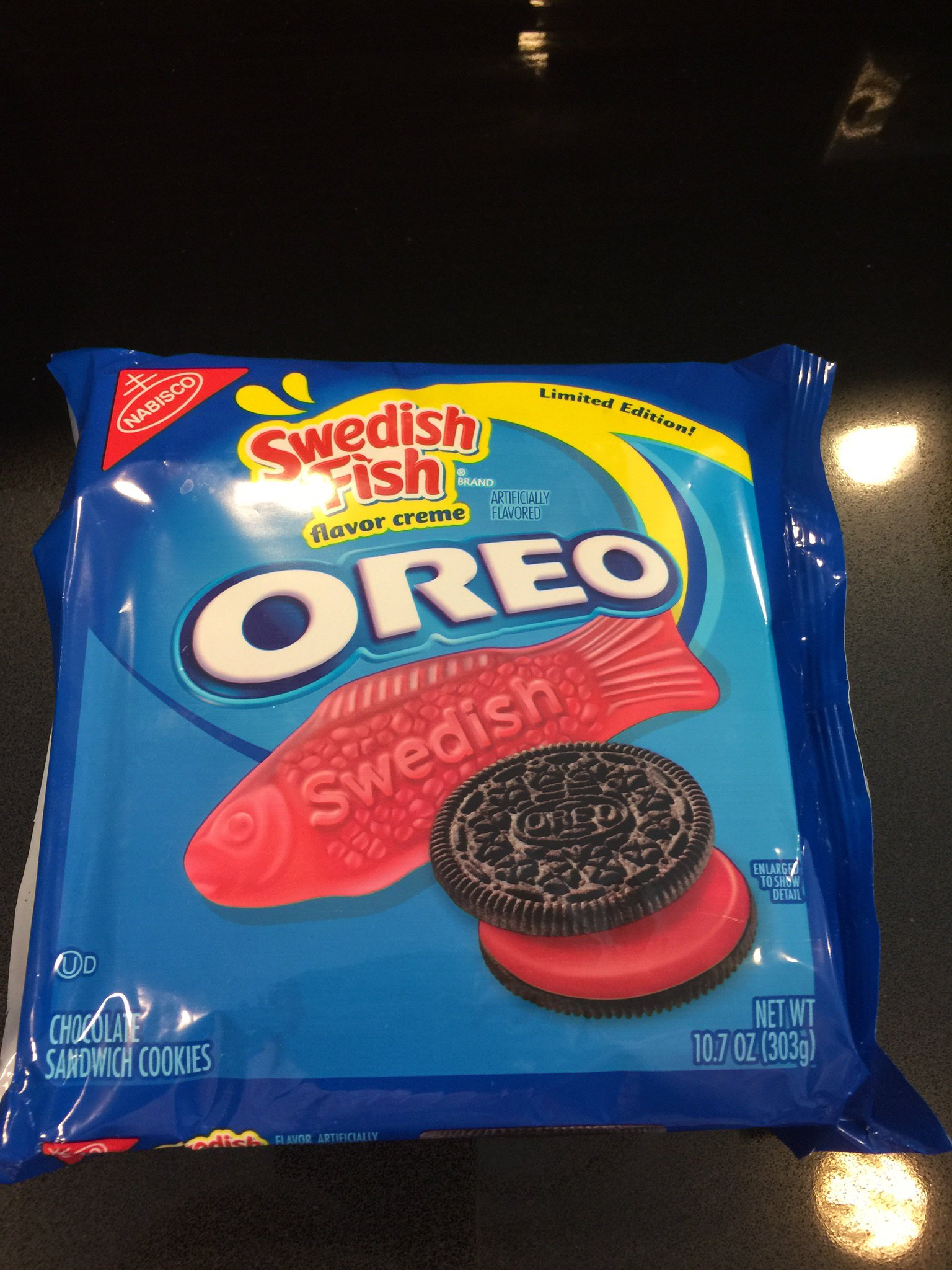 Would you eat a swedish fish flavored oreo for Swedish fish oreos where to buy