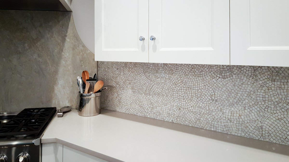 Artistic tile on twitter our whirlwind calacatta gold mosaic artistic tile on twitter our whirlwind calacatta gold mosaic adds a fresh unique energy to this mahwah nj kitchen backsplash tilestyle dailygadgetfo Images
