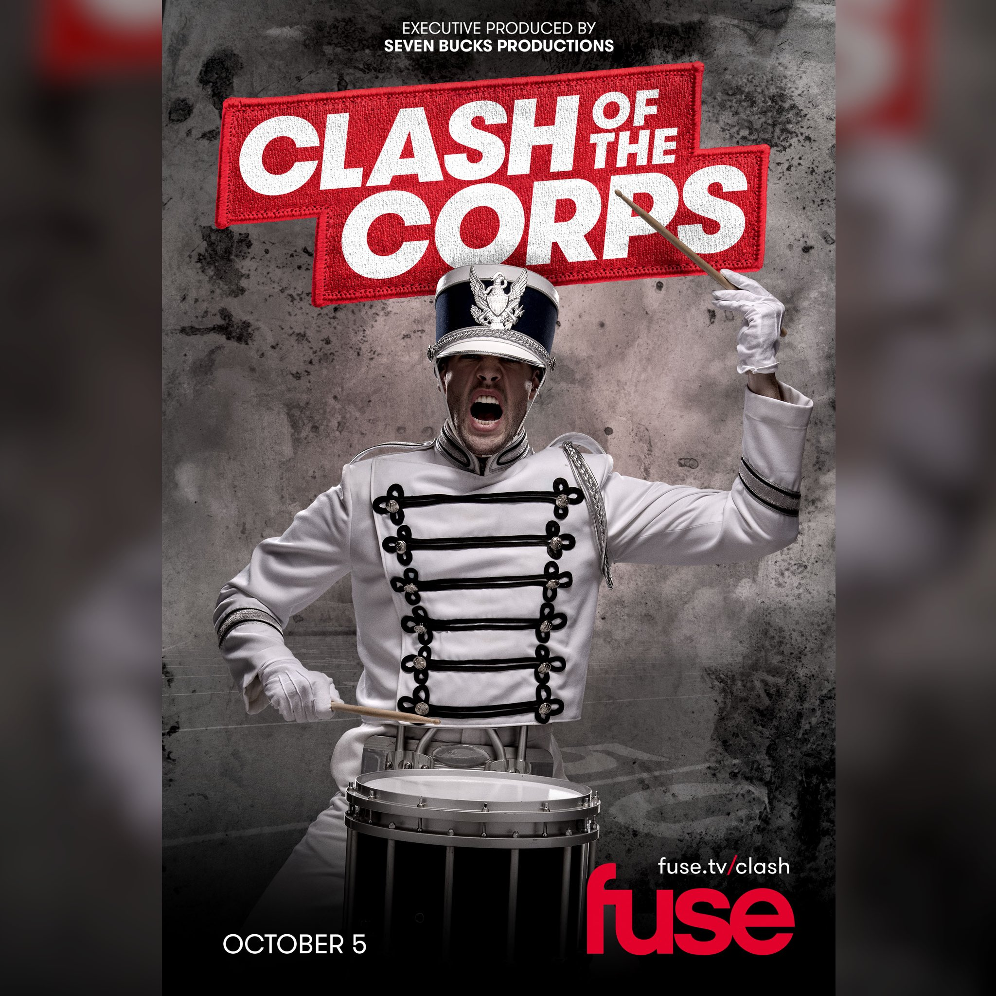 Our @SevenBucksProd's is bringing you inside the drum corps world! #ClashOfTheCorps on @fuse https://t.co/2PGvyAkRy1 https://t.co/gbrA58mrq5