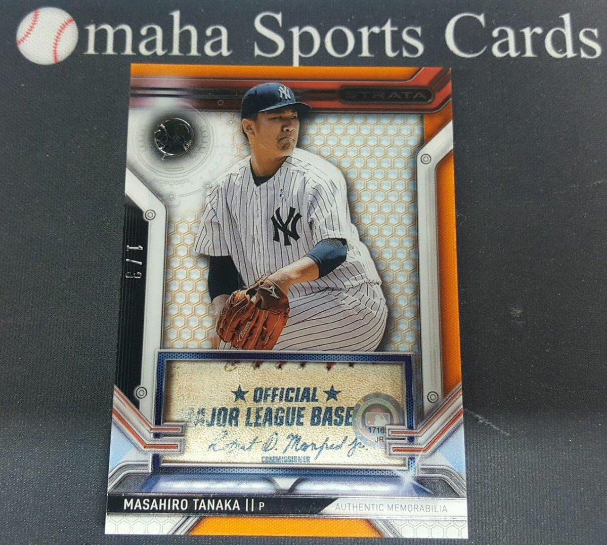 Omaha Sports Cards على تويتر Masahiro Tanaka Game Used