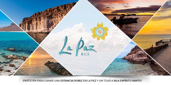 ¡Gana HOY una estancia por 3 días en @HyattPlaceLaPaz + 1 tour en @vivalapaznet! ¡Da RT a este tweet y participa!
