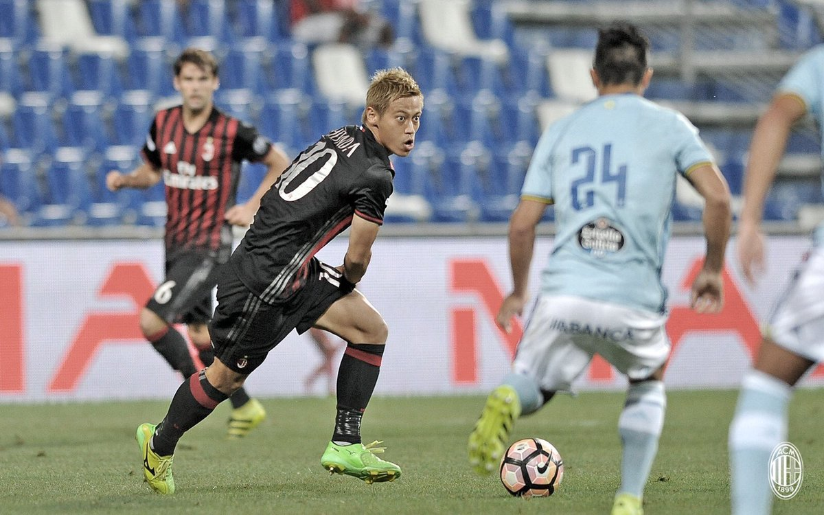 Trofeo TIM al Celta Vigo: Milan-Celta 4-2 ai rigori, Celta-Sassuolo 1-0, Sassuolo-Milan 3-2