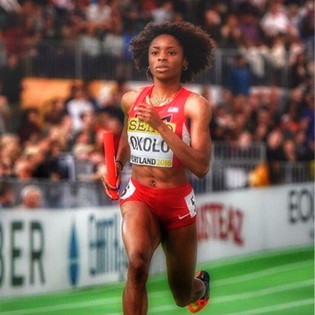 Courtney Okolo born