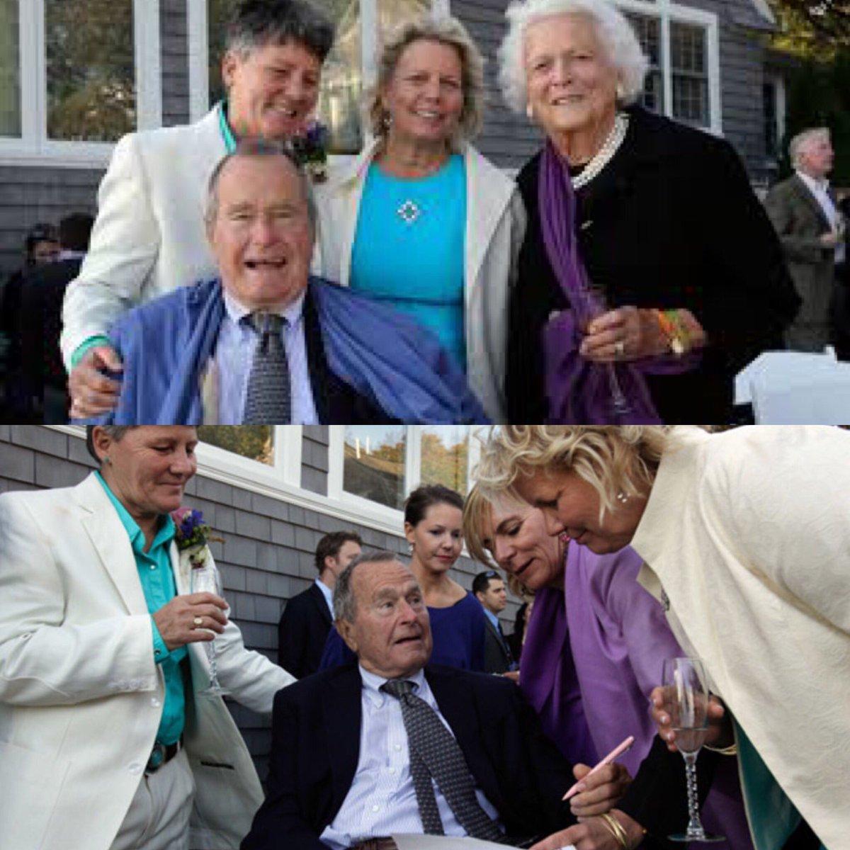 Bush marriage president same sex