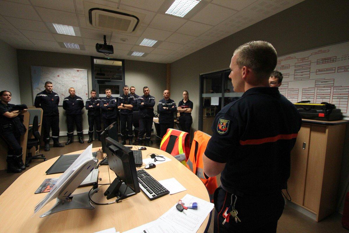 16 Sapeurs-Pompiers de la Somme vont renforcer le SDIS 13, avec leurs collègues des @SDIS60 @Sdis02 @Sdis59