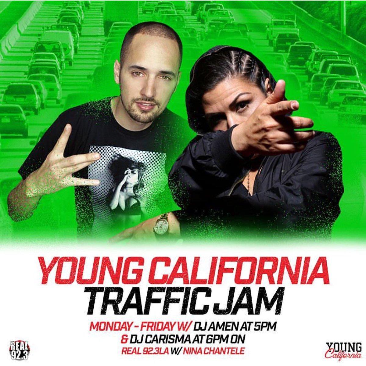 REAL 923 LA On Twitter The YoungCalifornia Traffic Jam Is Your Radios Turn Us Up LISTEN Tco IdGEHl4vIg