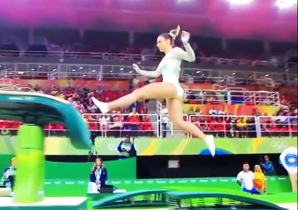 Ana Derek, il peggior salto dei Giochi Olimpici di Rio 2016