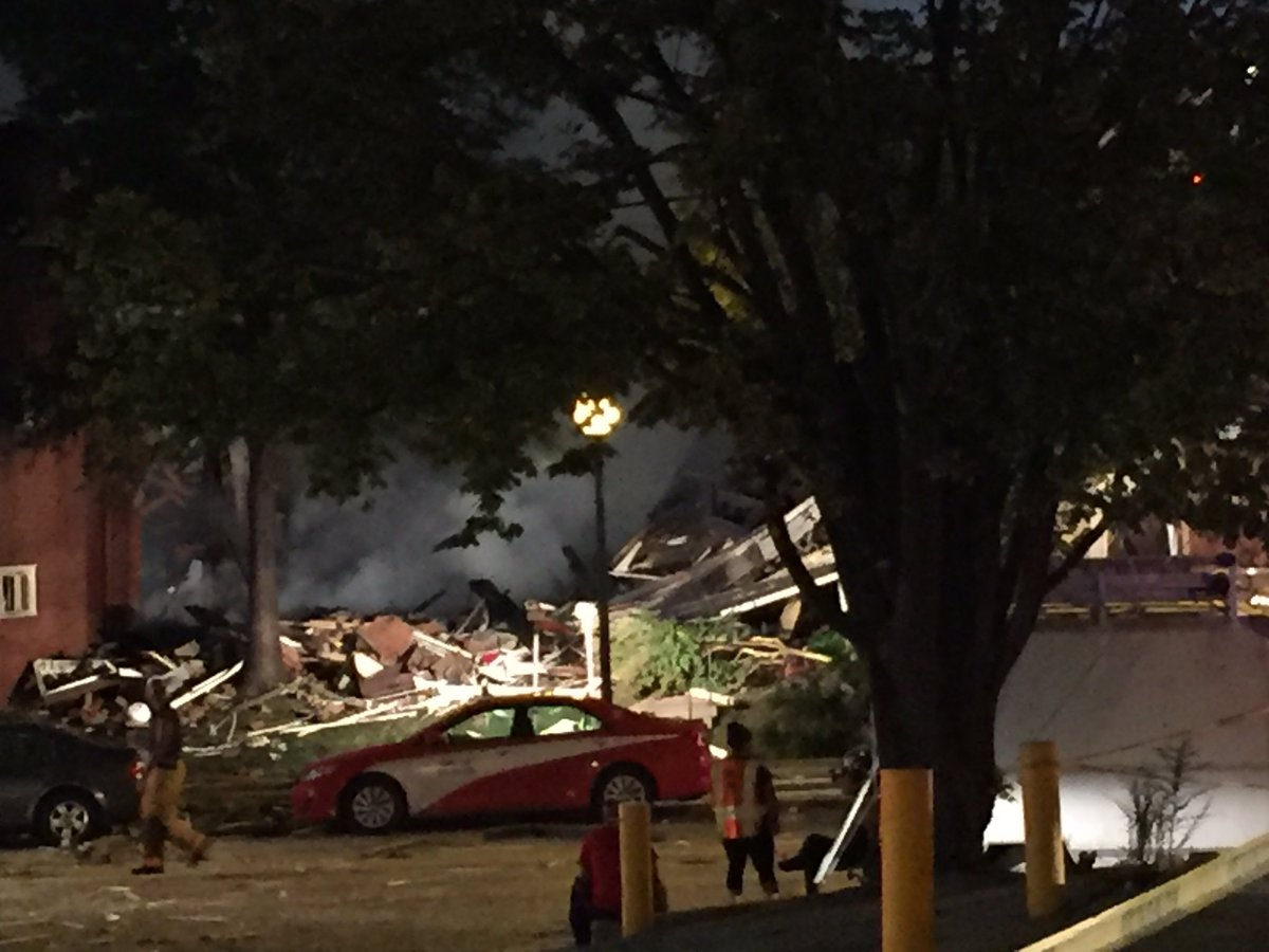 Maryland Apartment Explosion: 2 Dead, 34 Hurt and Others Still Missing in Rubble
