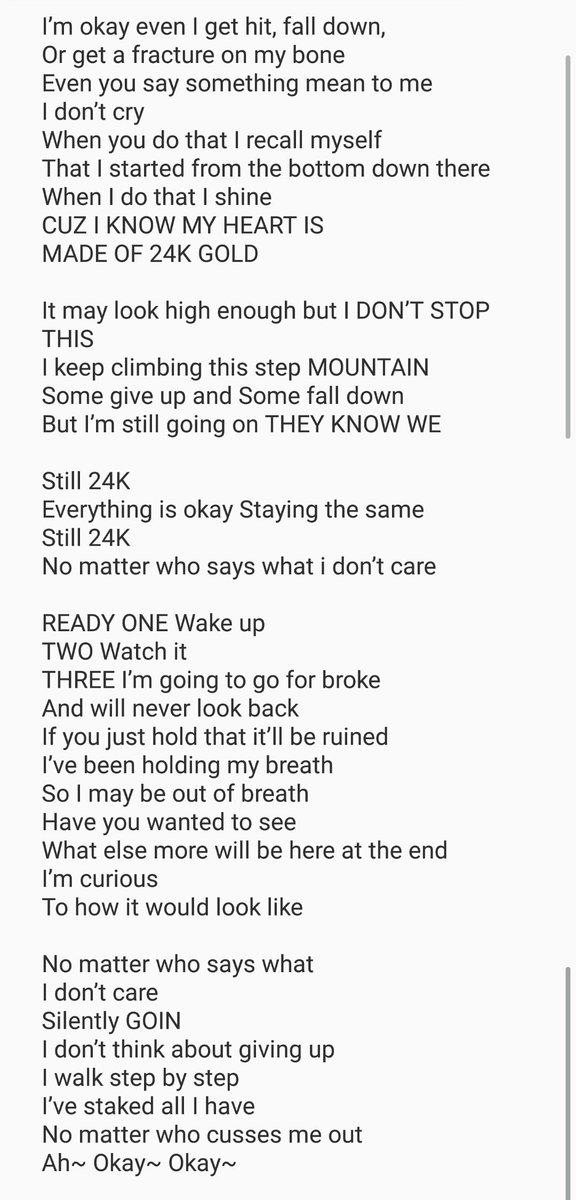 Lyric say something lyrics : Choeun Boys on Twitter: